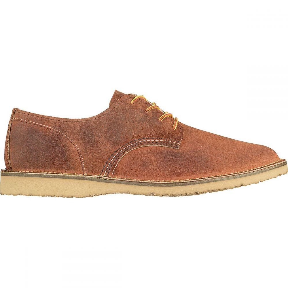 レッドウィング Red Wing Heritage メンズ 革靴・ビジネスシューズ シューズ・靴【Weekender Oxford Shoe】Red Maple Muleskinner Leather