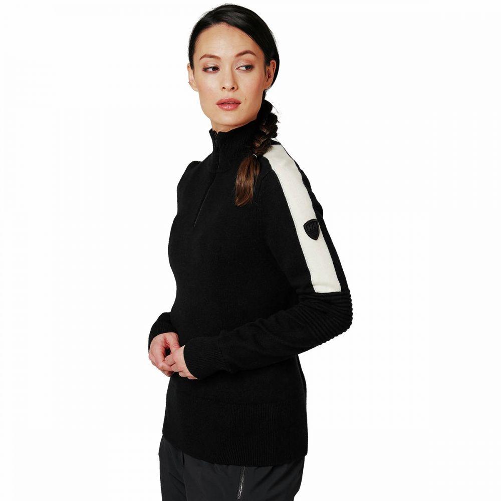 ヘリーハンセン Helly Hansen レディース ニット・セーター トップス【Hod Knit Sweater】Black