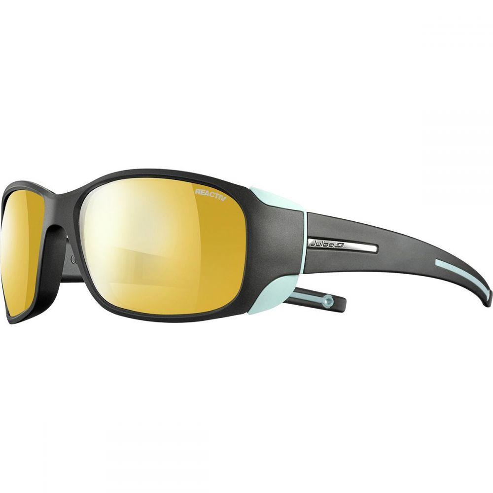 ジュルボ Julbo レディース スポーツサングラス 【Monterosa Zebra Sunglasses】Anthracite/Blue Mint
