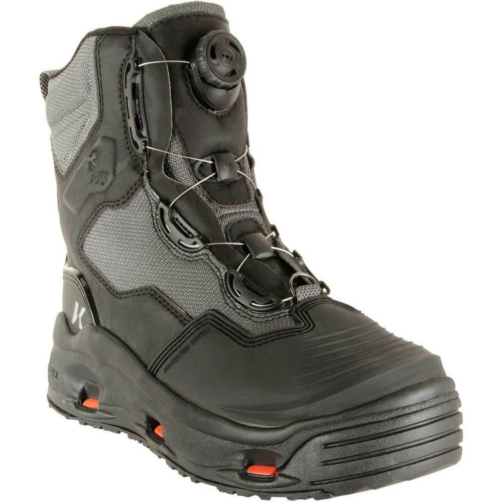 コーカーズ Korkers メンズ 釣り・フィッシング シューズ・靴【Dark Horse Wading Boot】Kling-On/Studded Kling-On Soles