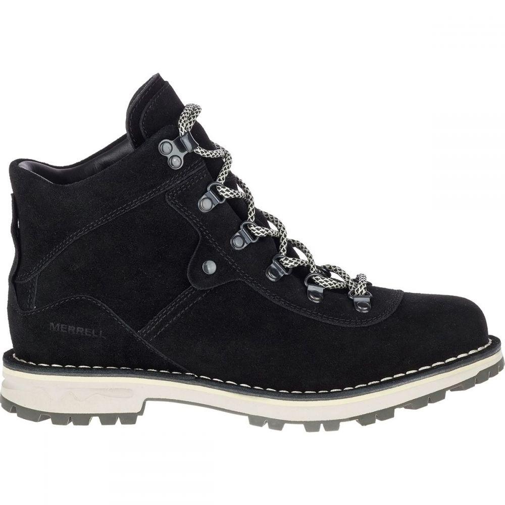 メレル Merrell レディース ブーツ シューズ・靴【Sugarbush WP Suede Boot】Black