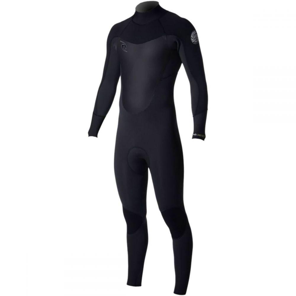 リップカール Rip Curl メンズ ウェットスーツ フルスーツ 水着・ビーチウェア【Dawn Patrol 3/2 Back - Zip Full Wetsuit】Black
