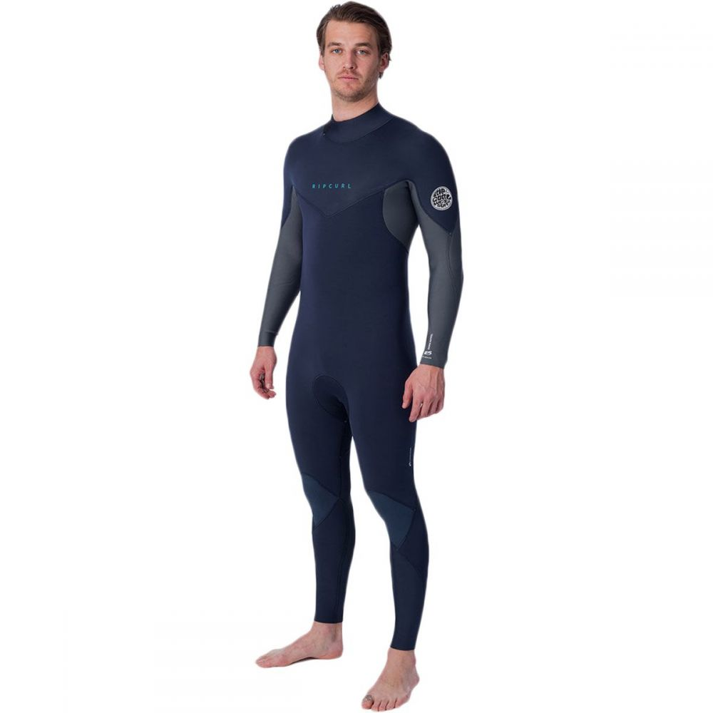 リップカール Rip Curl メンズ ウェットスーツ フルスーツ 水着・ビーチウェア【Dawn Patrol 3/2 Back - Zip Full Wetsuit】Stealth