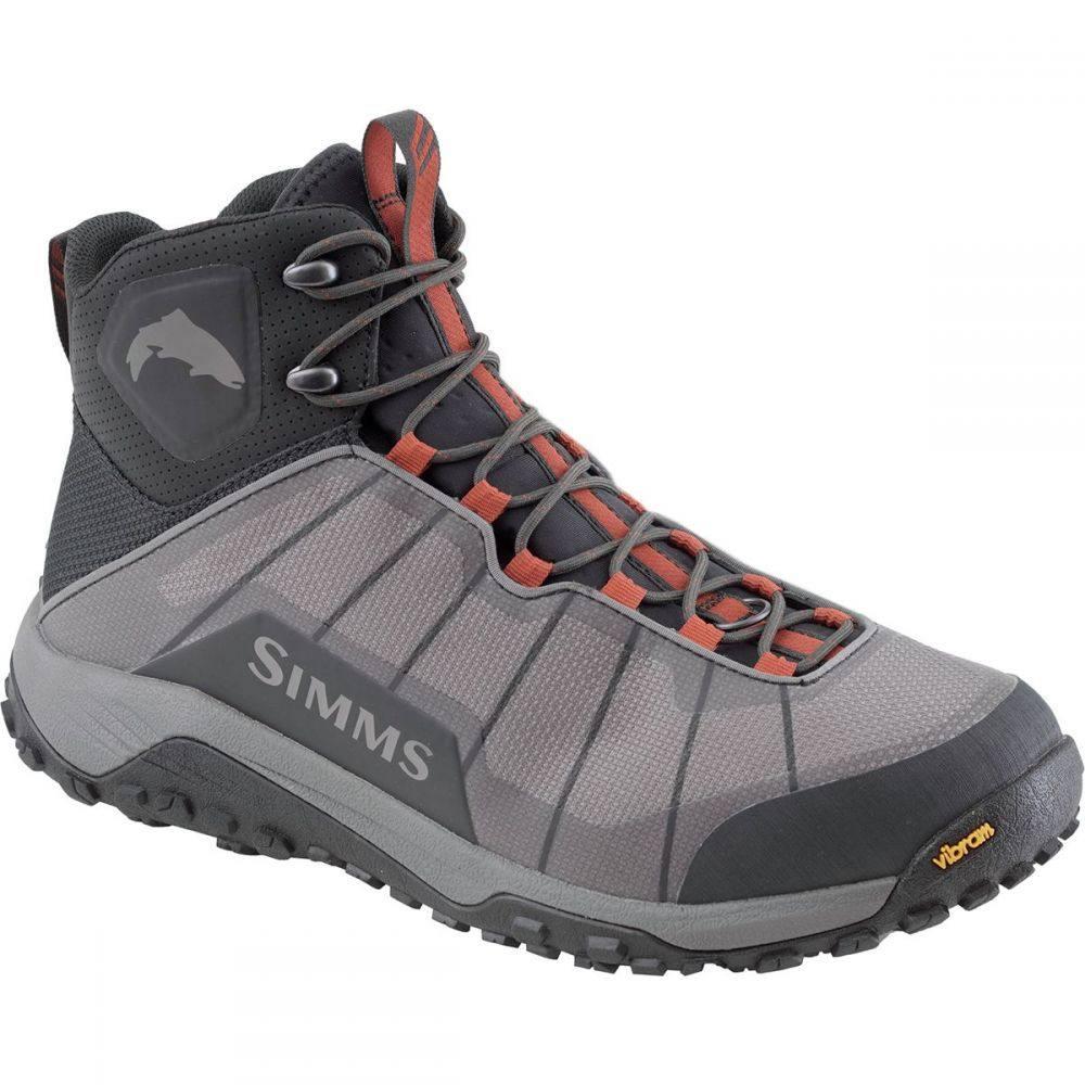 シムズ Simms メンズ 釣り・フィッシング シューズ・靴【Flyweight Wading Boot】Steel Grey