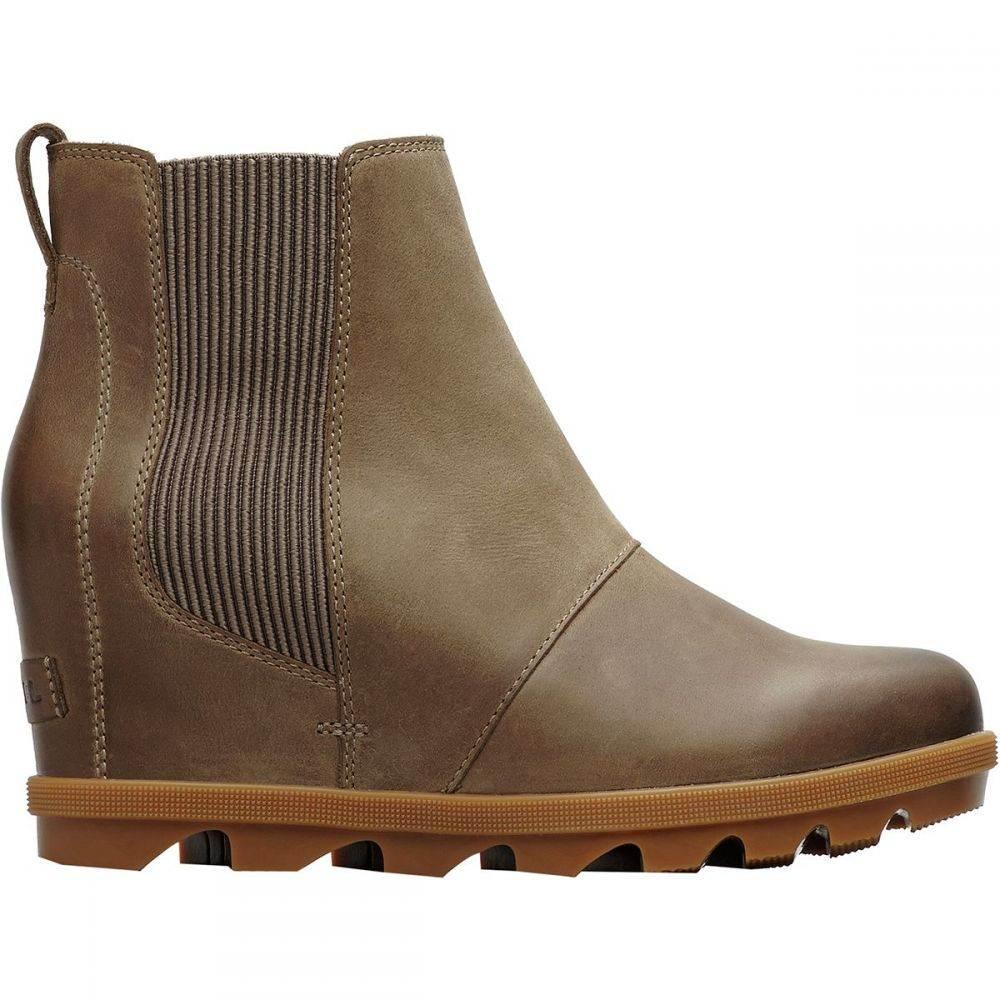 ソレル Sorel レディース ブーツ チェルシーブーツ ウェッジソール シューズ・靴【Joan of Arctic Wedge II Chelsea Boot】Ash Brown