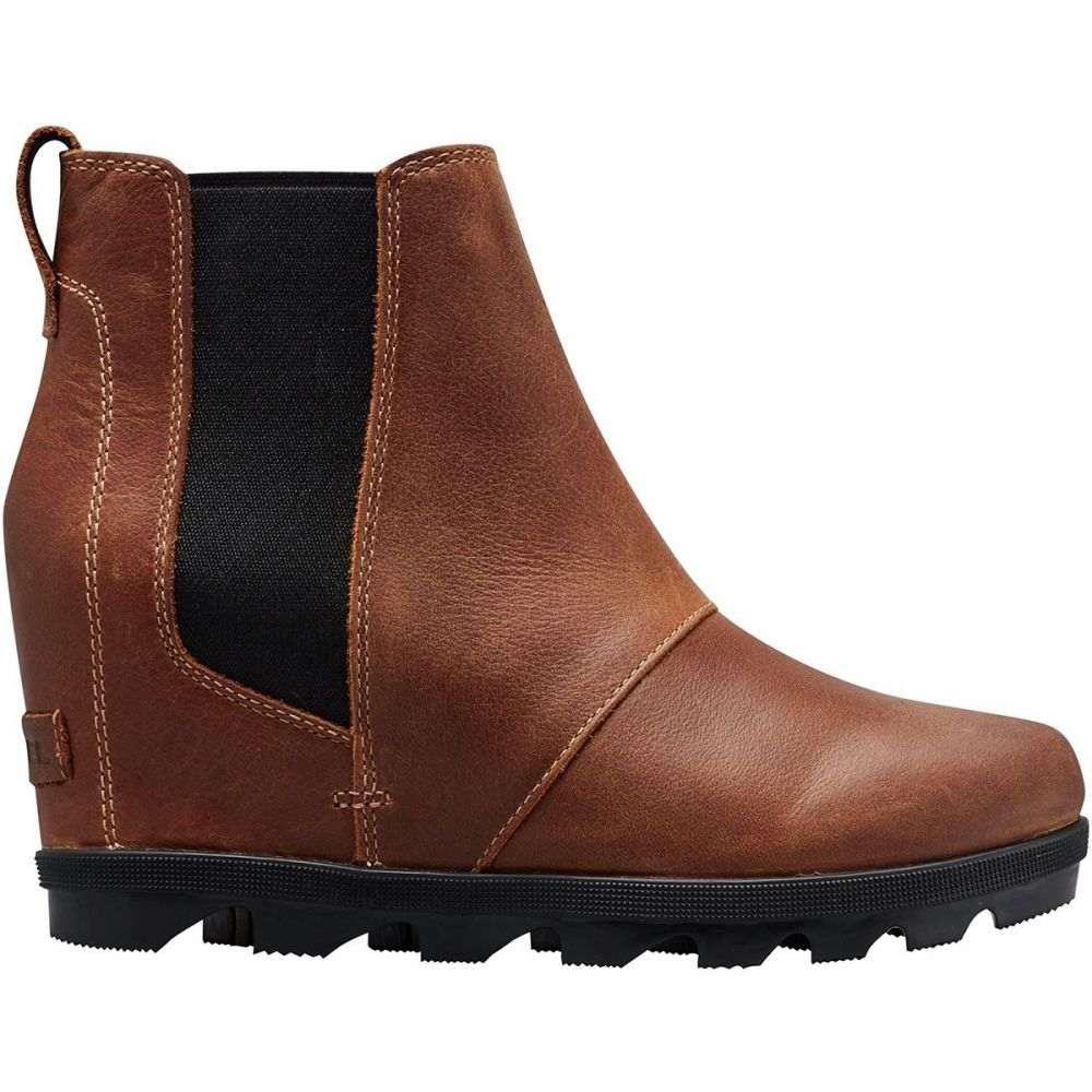 ソレル Sorel レディース ブーツ チェルシーブーツ ウェッジソール シューズ・靴【Joan of Arctic Wedge II Chelsea Boot】Elk