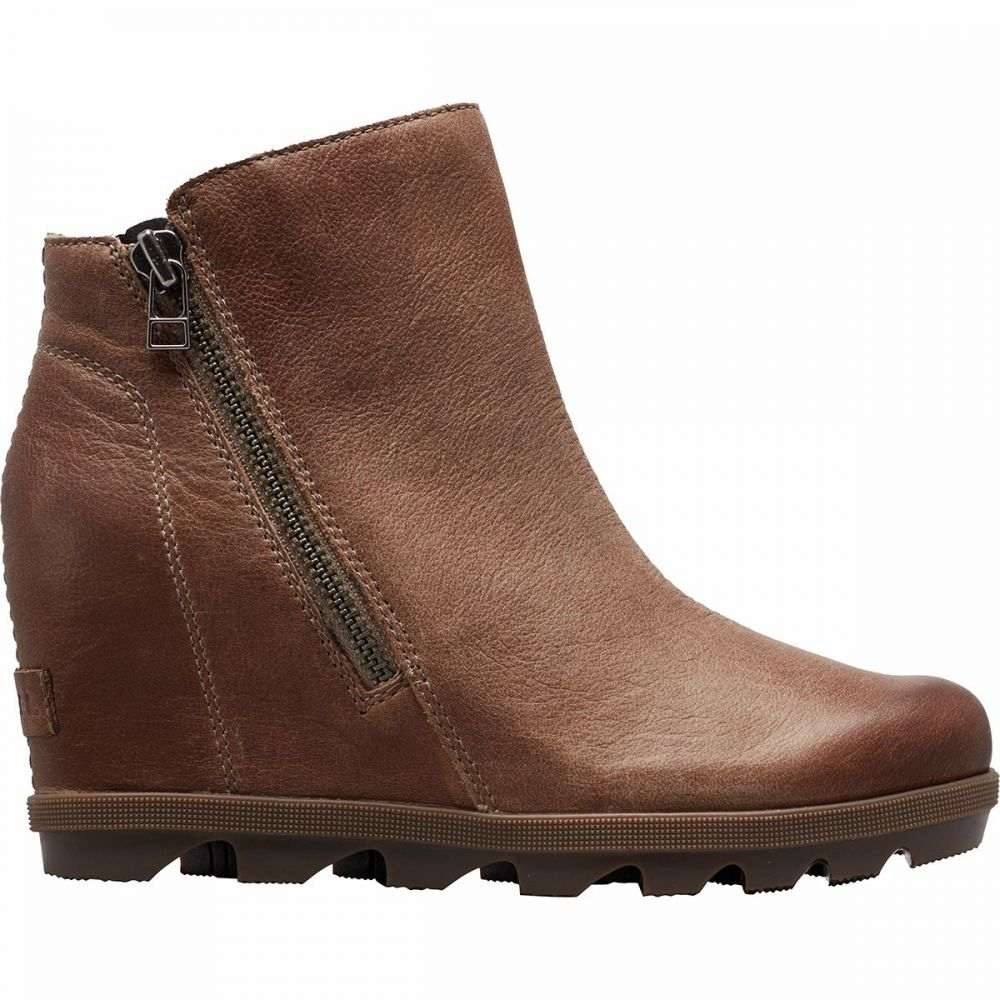 ソレル Sorel レディース ブーツ ウェッジソール シューズ・靴【Joan Of Arctic Wedge II Zip Boot】Ash Brown