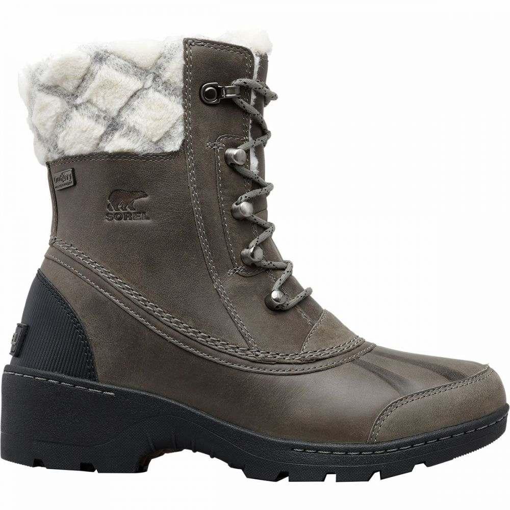 ソレル Sorel レディース ブーツ シューズ・靴【Whistler Mid Boot】Quarry/Black