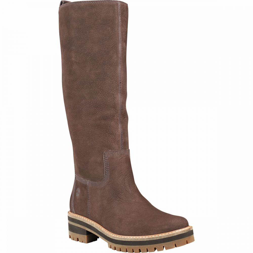 ティンバーランド Timberland レディース ブーツ シューズ・靴 Courmayeur Valley Tall Boot Dark Brown Nubuck8vmwNn0