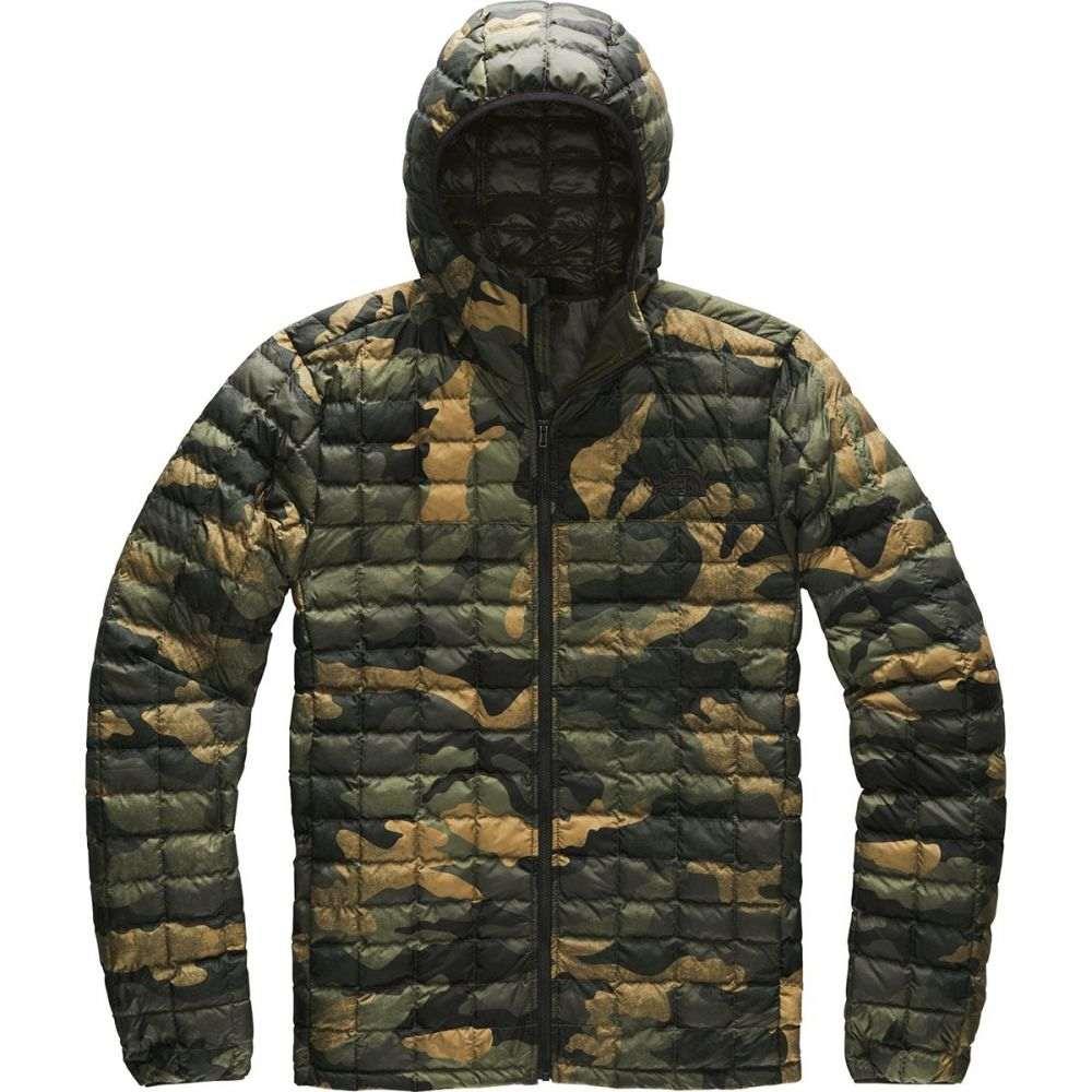 ザ ノースフェイス The North Face メンズ ジャケット フード アウター【Thermoball Eco Hooded Jacket】Burnt Olive Green Waxed Camo Print