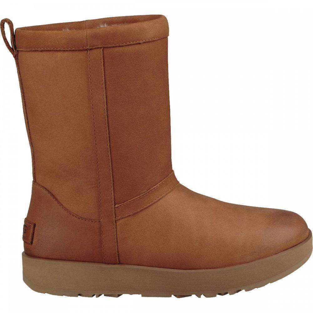 アグ UGG レディース ブーツ シューズ・靴【Classic Short L Waterproof Arctic Grip Boot】Chestnut