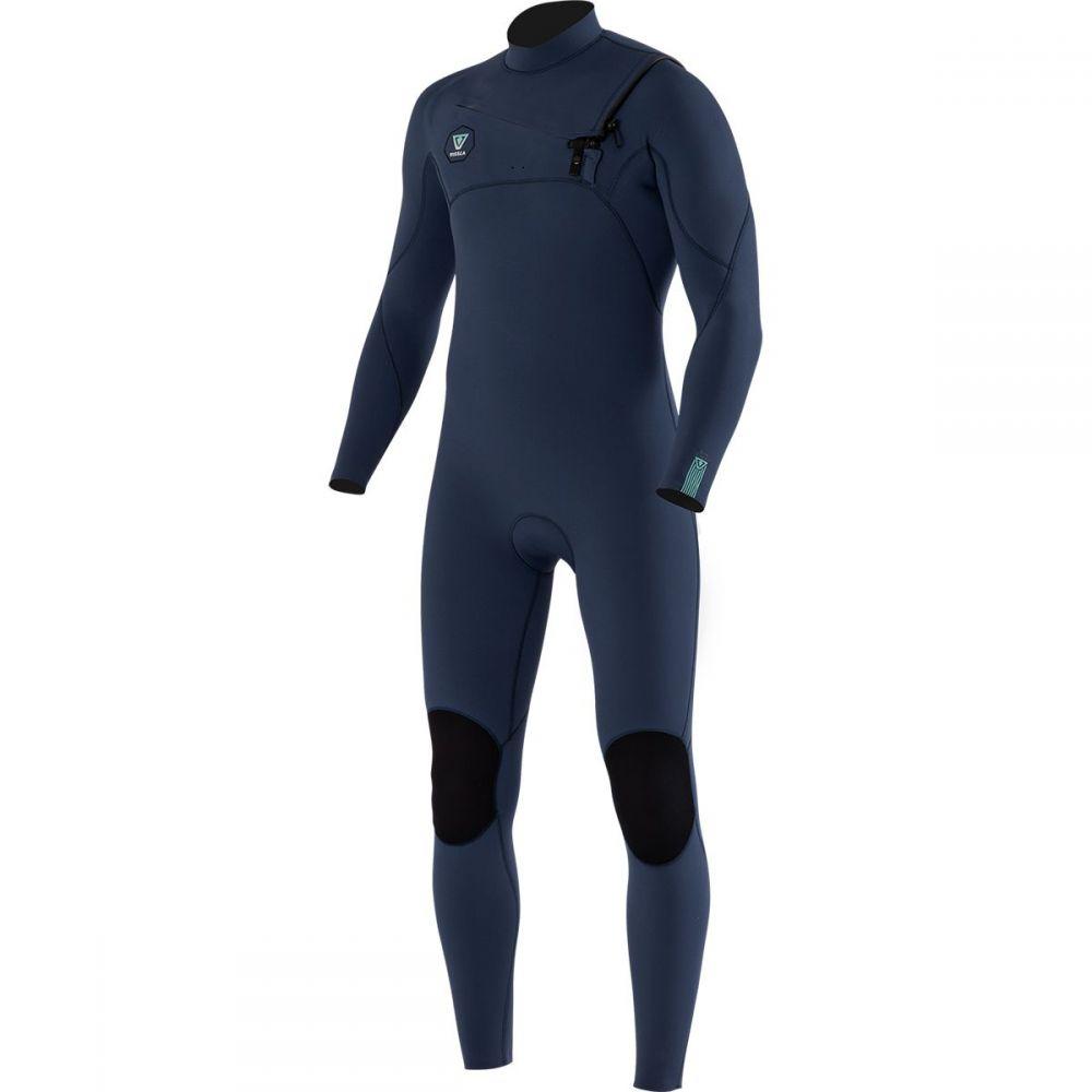 ヴィスラ Vissla メンズ ウェットスーツ 水着・ビーチウェア【7 Seas 3/2 Full Chest Zip Long - Sleeve Wetsuit】Strong Blue