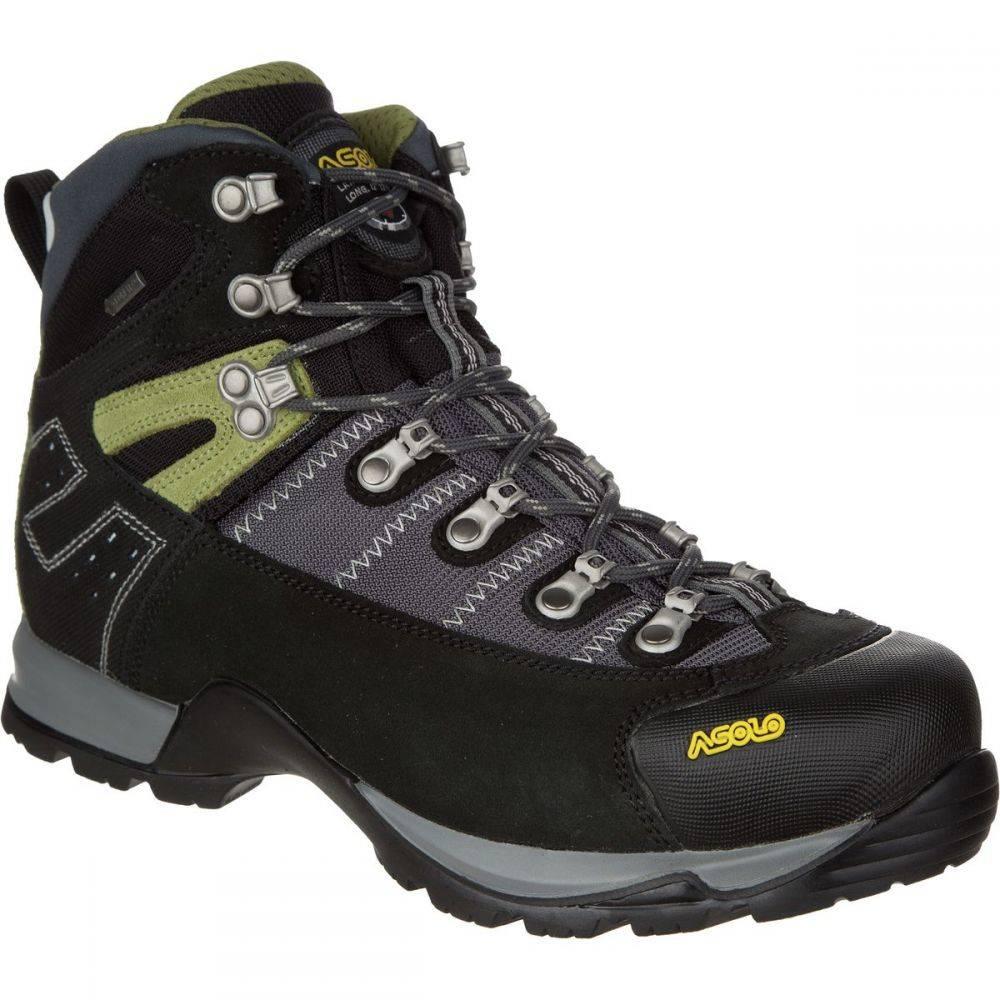 アゾロ Asolo メンズ ハイキング・登山 ブーツ シューズ・靴【Fugitive Gore - Tex Boot】Black/Gunmetal