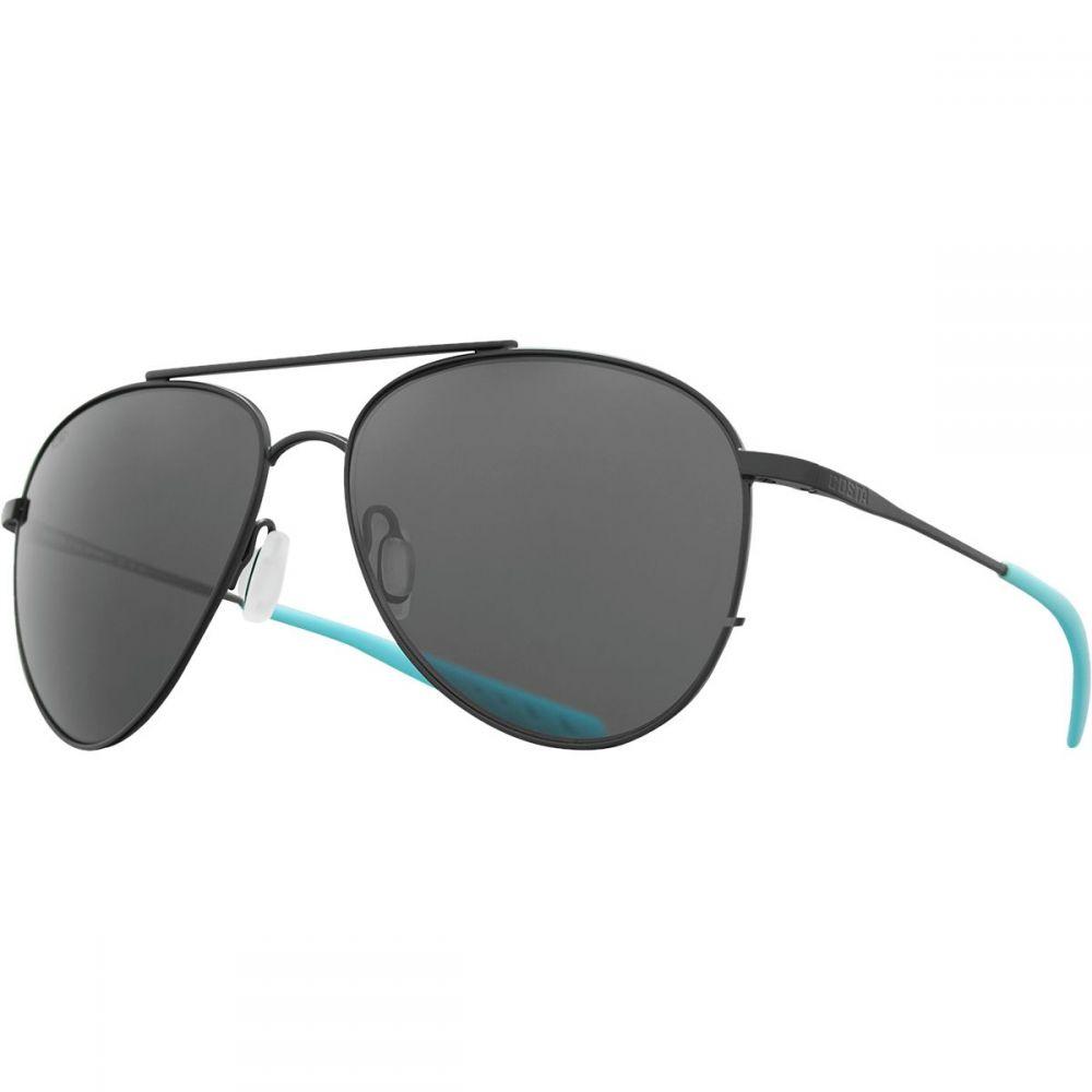 コスタ Costa レディース メガネ・サングラス 【Cook 580P Polarized Sunglasses】Satin Black Ocearch - Silver Gray Mirror 580P