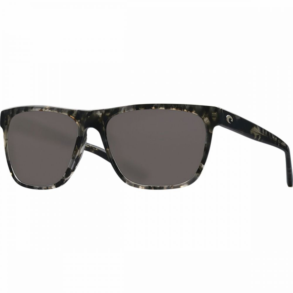 コスタ Costa レディース メガネ・サングラス 【Apalach 580PG Polarized Sunglasses】Shiny Black Kelp Frame/Blue Mirror