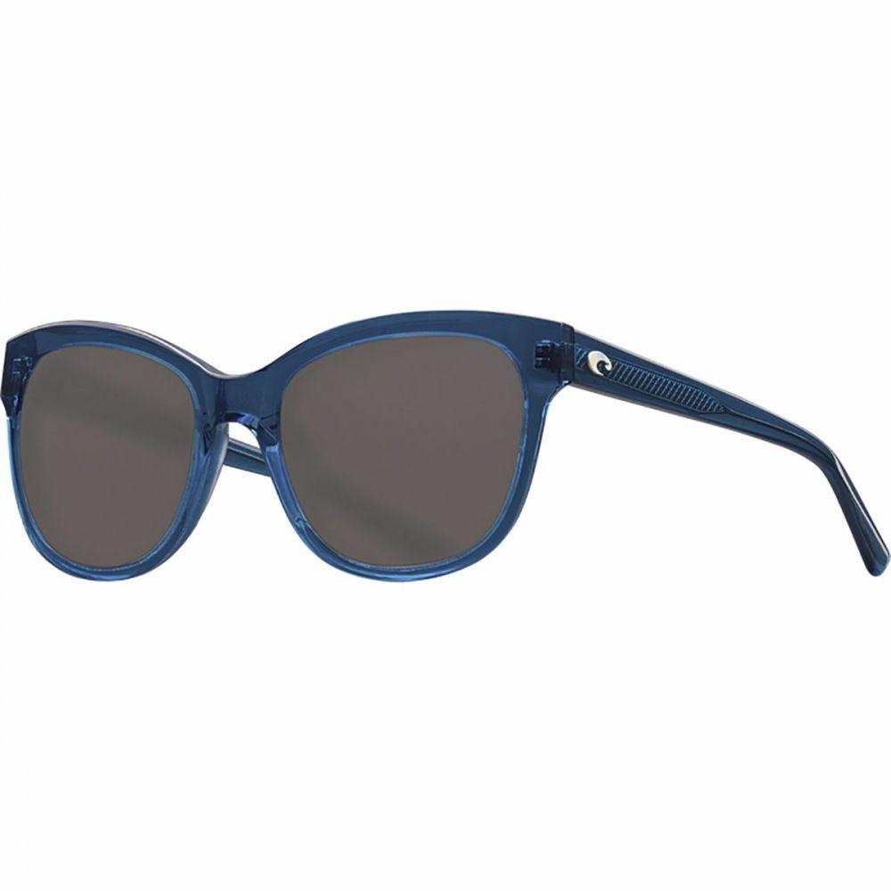 コスタ Costa レディース メガネ・サングラス 【Bimini 580G Polarized Sunglasses】Shiny Deep Teal Crystal/Gray Silver Mirror 580G
