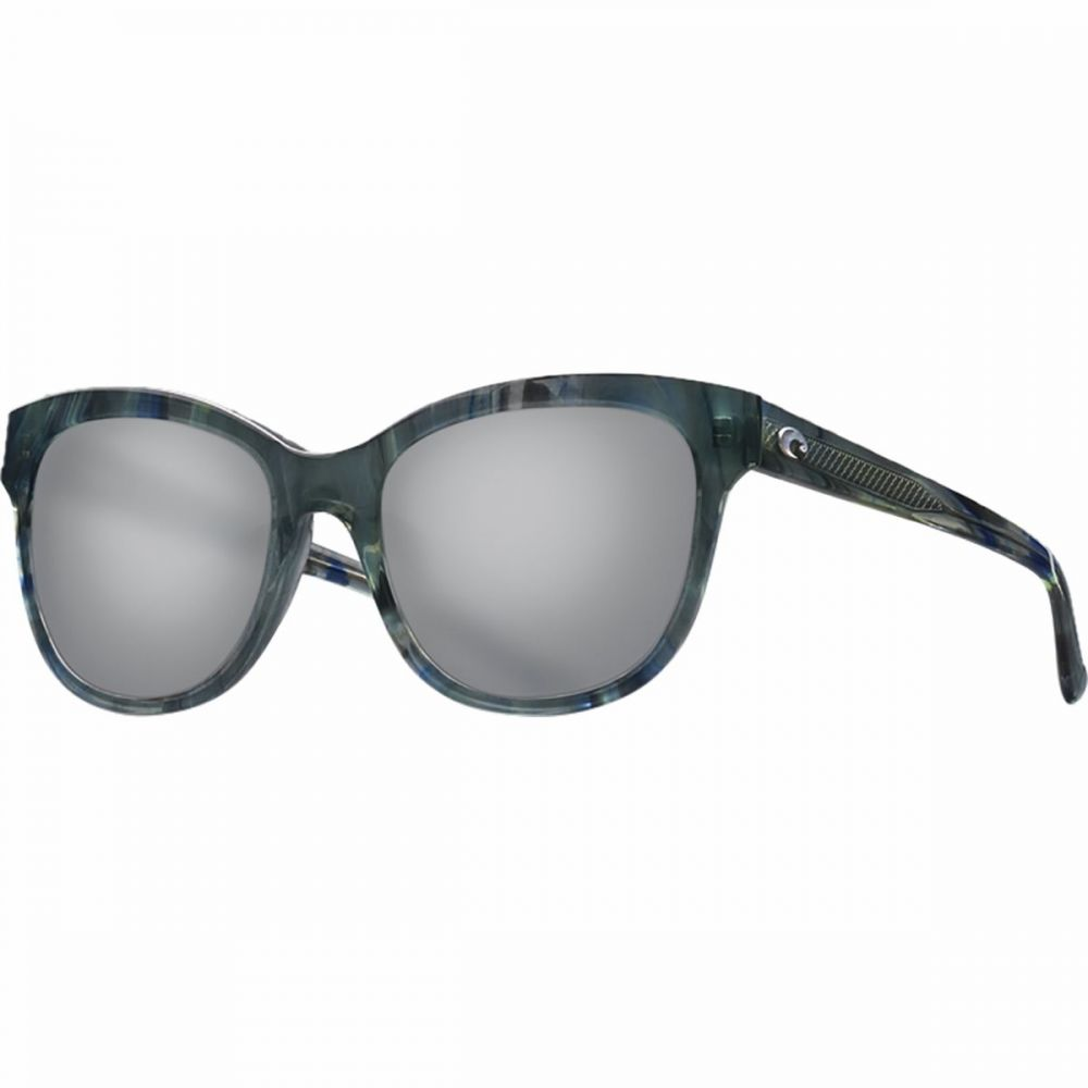 コスタ Costa レディース メガネ・サングラス 【Bimini 580G Polarized Sunglasses】Shiny Ocean Current Frame/Gray 580G