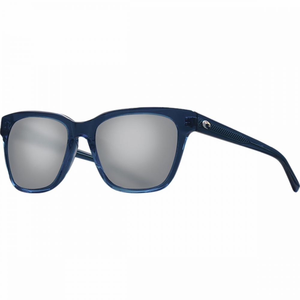 コスタ Costa レディース メガネ・サングラス 【Coquina 580G Polarized Sunglasses】Shiny Deep Teal Crystal Frame/Gray Silver Mirror 580G