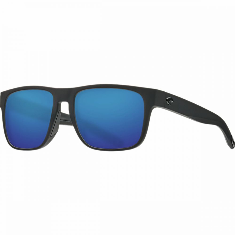 コスタ Costa レディース スポーツサングラス 【Spearo 580G Polarized Sunglasses】Blackout Frame/Blue Mirror 580G