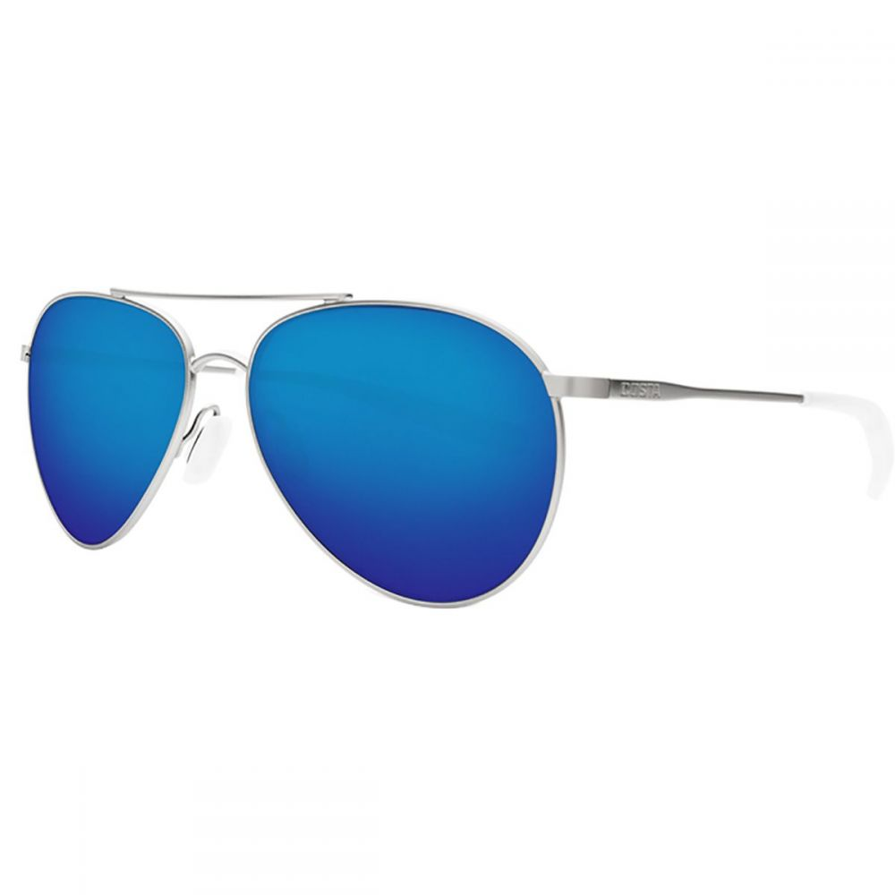 コスタ Costa レディース メガネ・サングラス 【Piper 580P Polarized Sunglasses】Velvet Silver Frame/Blue Mirror