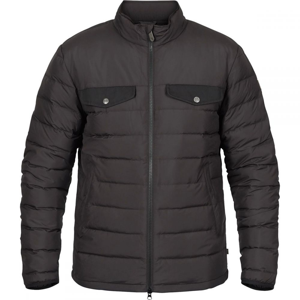 フェールラーベン Fjallraven メンズ ダウン・中綿ジャケット アウター【Greenland Down Liner Jacket】Black