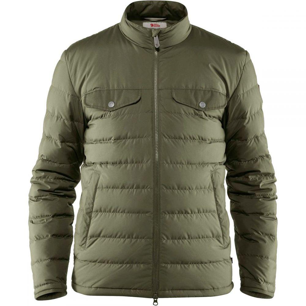 フェールラーベン Fjallraven メンズ ダウン・中綿ジャケット アウター【Greenland Down Liner Jacket】Green