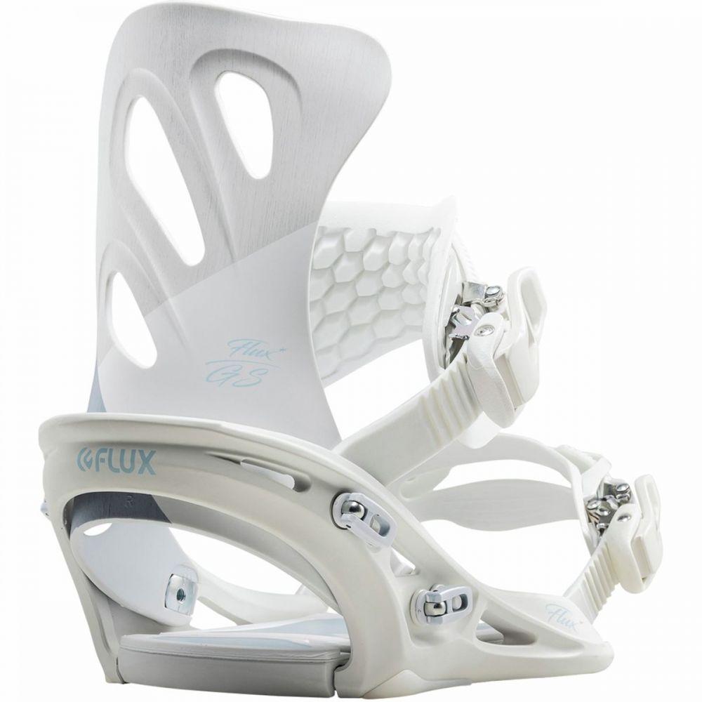 フラックス Flux レディース スキー・スノーボード ビンディング【GS Snowboard Binding】White Wood