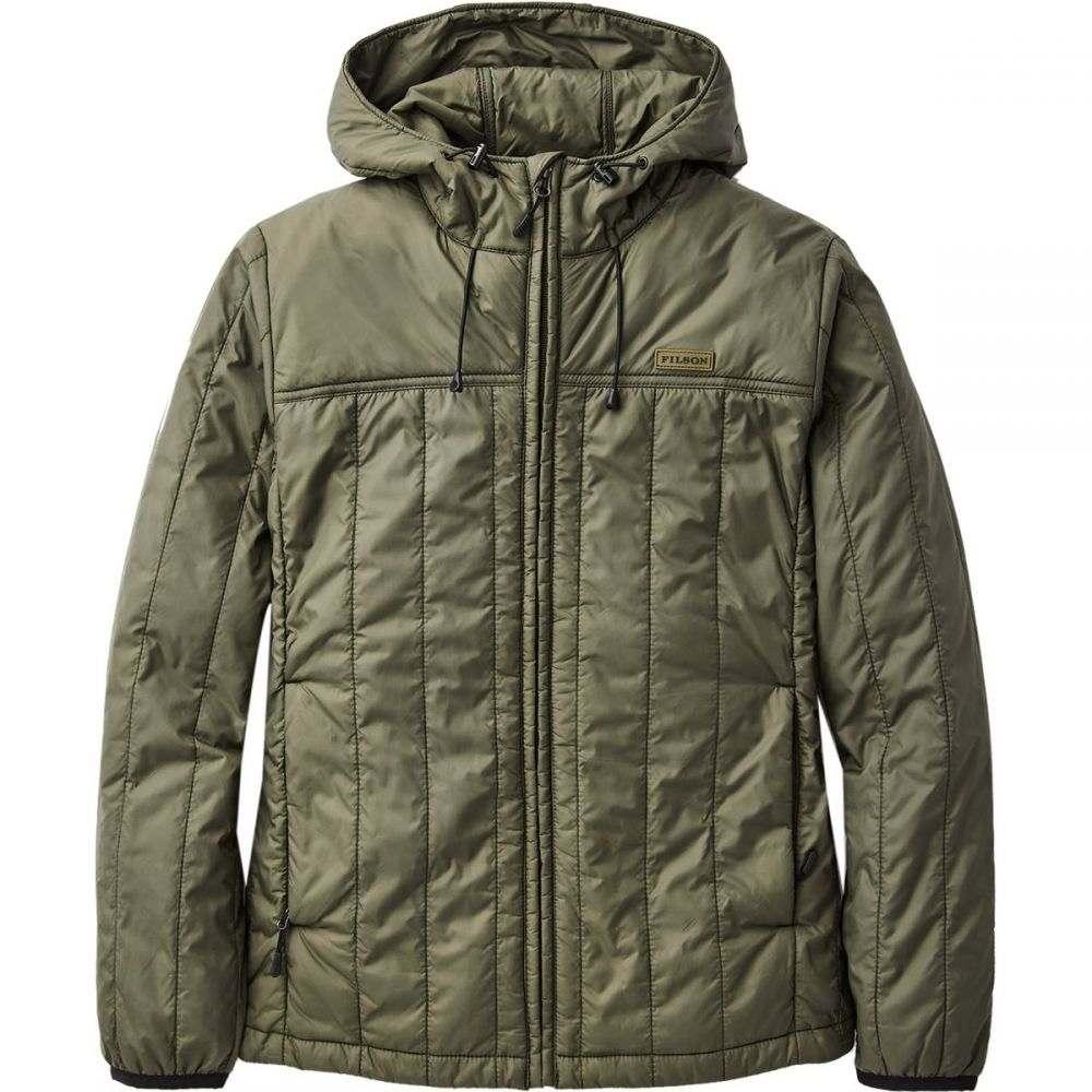 フィルソン Filson メンズ ジャケット フード アウター【Ultralight Hooded Jacket】Olive Gray