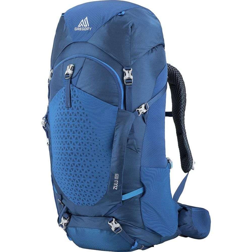 グレゴリー メンズ ハイキング 登山 バックパック リュック Empire Zulu Blue Gregory サイズ交換無料 美品 65L 現品 Backpack