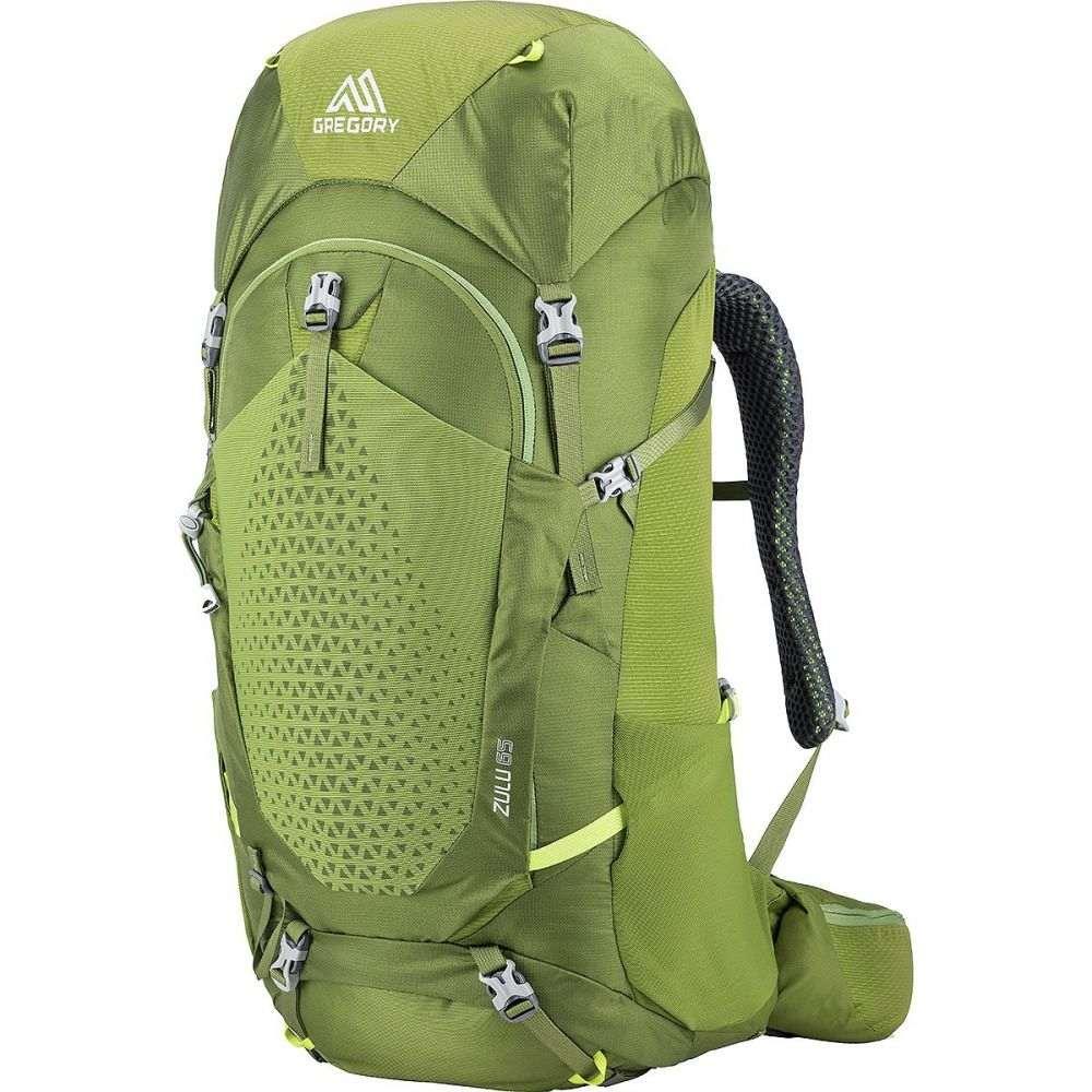 超激安 グレゴリー メンズ ハイキング 登山 バックパック リュック Mantis Green 65L ラッピング無料 サイズ交換無料 Zulu Gregory Backpack