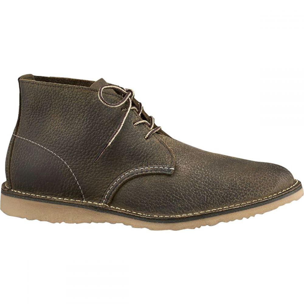 レッドウィング Red Wing Heritage メンズ シューズ・靴 チャッカブーツ【Weekender Chukka Shoe】Olive Brown Roughneck Leather