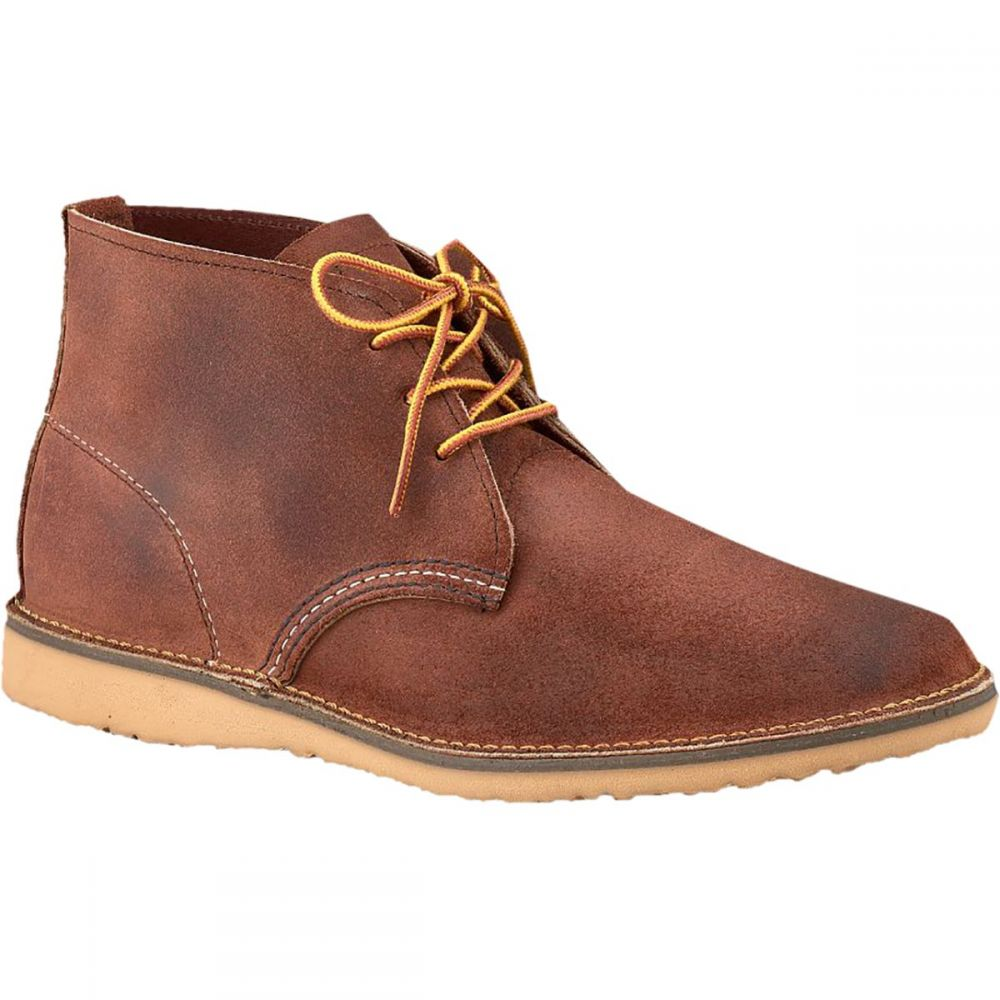 レッドウィング Red Wing Heritage メンズ シューズ・靴 チャッカブーツ【Weekender Chukka Shoe】Red Maple Muleskinner Leather