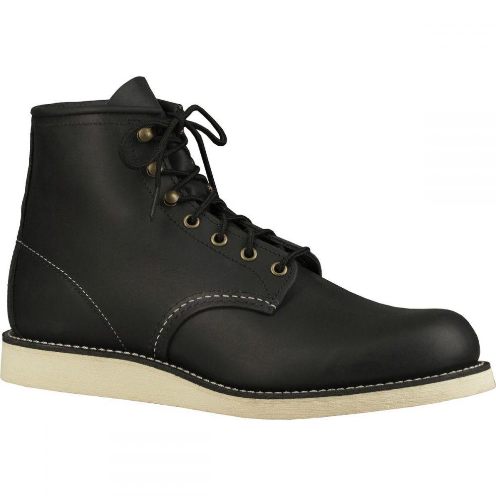 レッドウィング Red Wing Heritage メンズ ブーツ シューズ・靴【Rover 6in Boot】Black Harness Leather