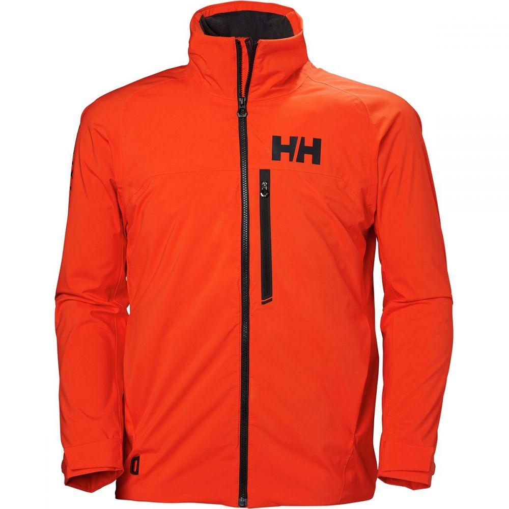 ヘリーハンセン Helly Hansen メンズ ジャケット ミッドレイヤー アウター【HP Racing Midlayer Insulated Jacket】Cherry Tomato
