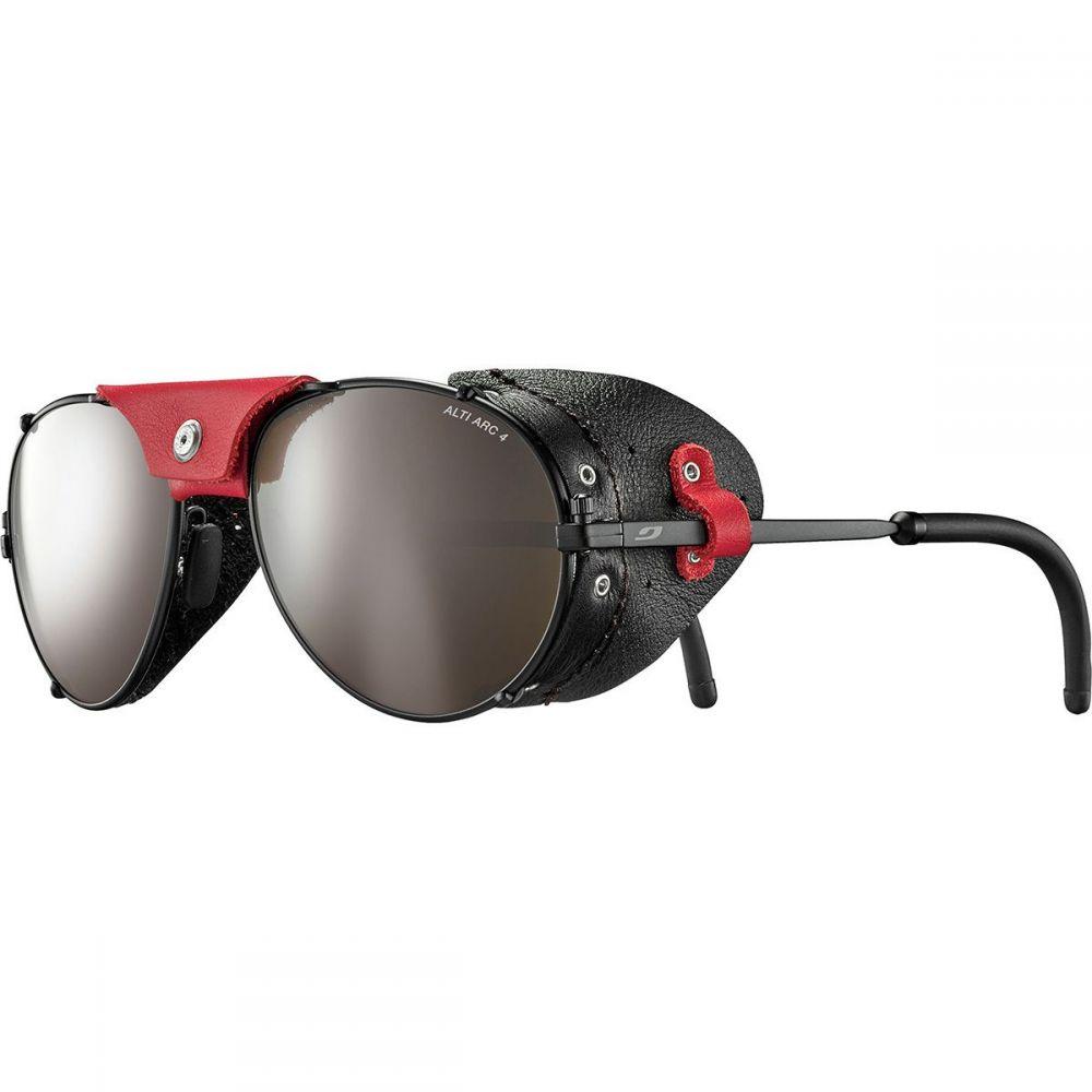 ジュルボ レディース ファッション小物 スポーツサングラス Black Red サイズ交換無料 Arc Sunglasses 4 ランキングTOP5 Alti 安全 Glass Julbo Cham