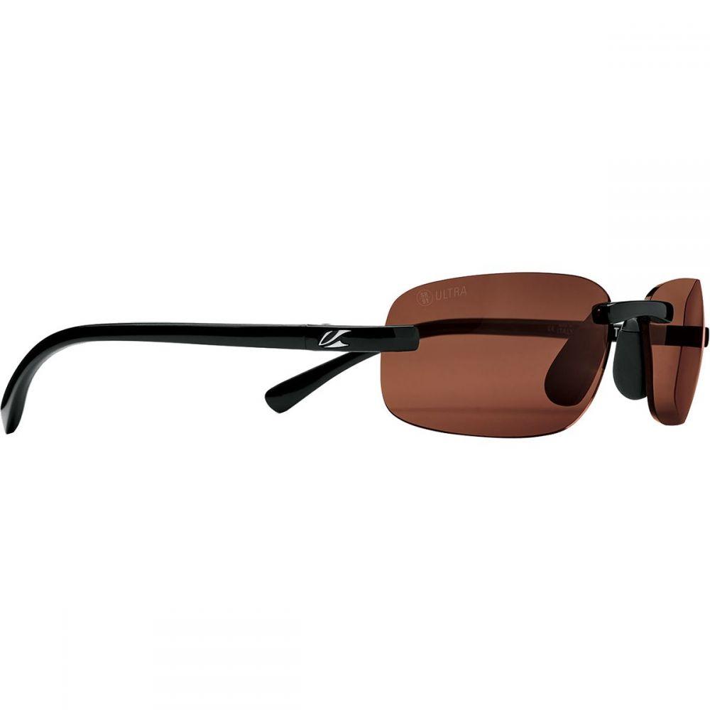 カエノン Kaenon レディース メガネ・サングラス 【Coto S Polarized Sunglasses】Black/Ultra Brown 12-Polarized