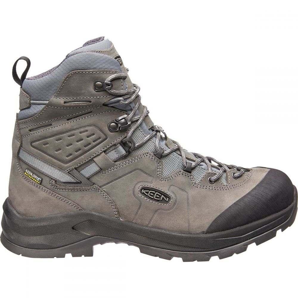 キーン KEEN メンズ ハイキング・登山 ブーツ シューズ・靴【Karraig Mid Waterproof Backpacking Boot】Bungee Cord/Green Gables