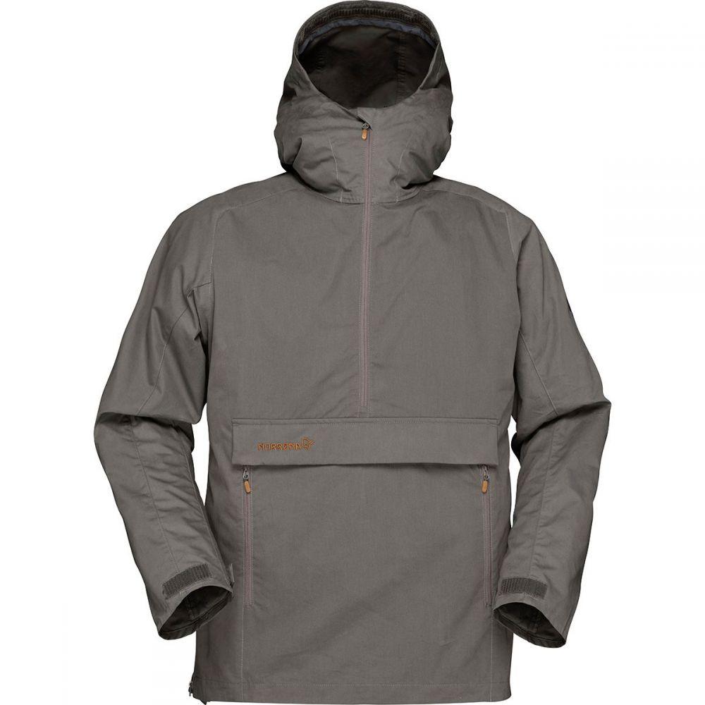 ノローナ Norrona メンズ ジャケット アノラック アウター【Svalbard Cotton Anorak Jacket】Slate Grey