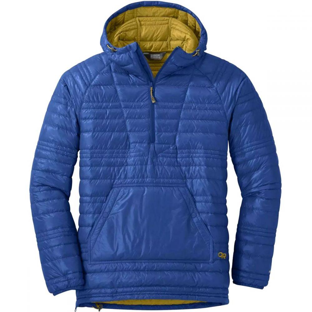 アウトドアリサーチ Outdoor Research メンズ ダウン・中綿ジャケット アウター【Down Baja Pullover Jacket】Sapphire