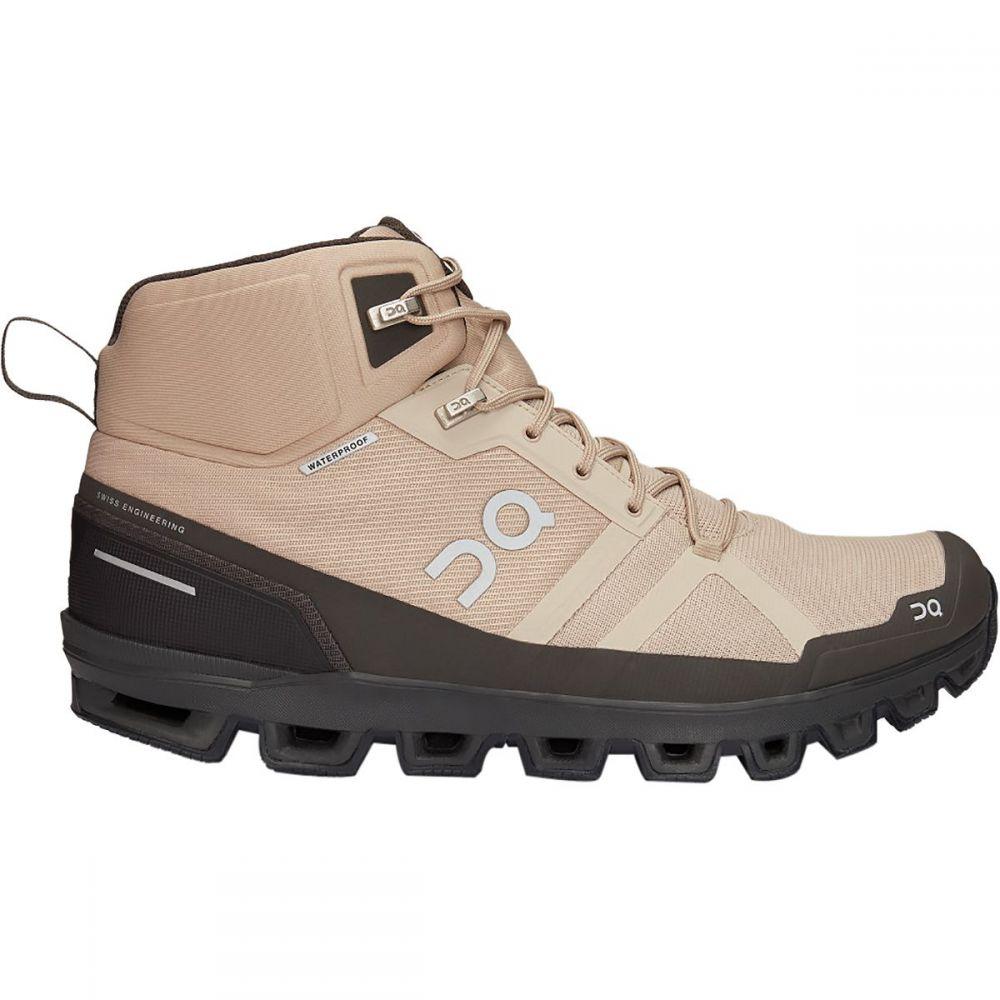 オン ON Running メンズ ハイキング・登山 ブーツ シューズ・靴【Cloudrock Hiking Boot】Sand/Black