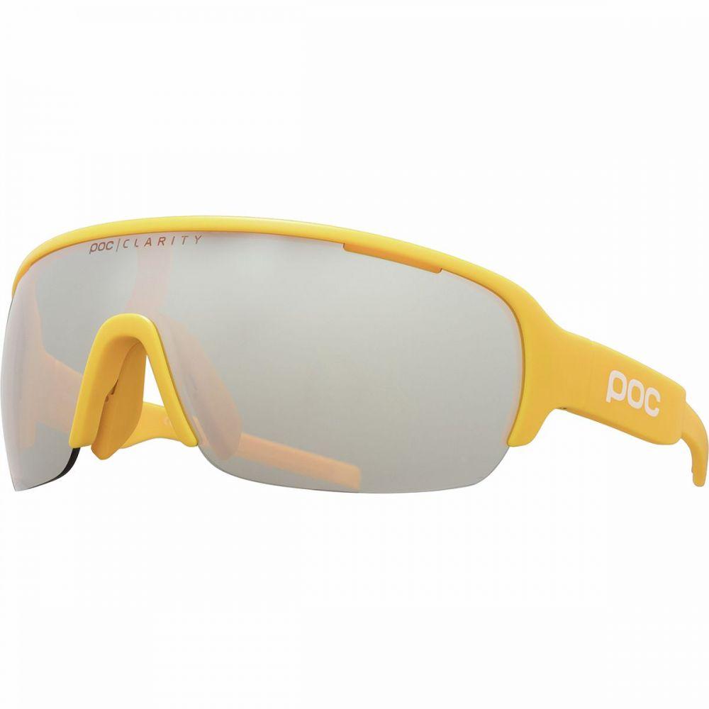 ピーオーシー POC レディース スポーツサングラス 【Do Half Blade Sunglasses】Sulphite Yellow Brown/Silver Mirror Clarity