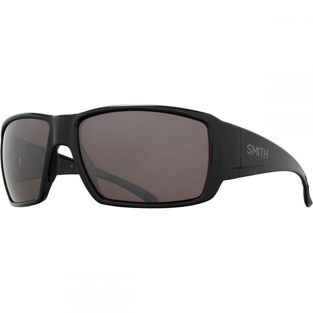スミス メンズ ファッション小物 スポーツサングラス Black/Ignitor 【サイズ交換無料】 スミス Smith メンズ スポーツサングラス 【Guide's Choice Polarchromic Sunglasses】Black/Ignitor