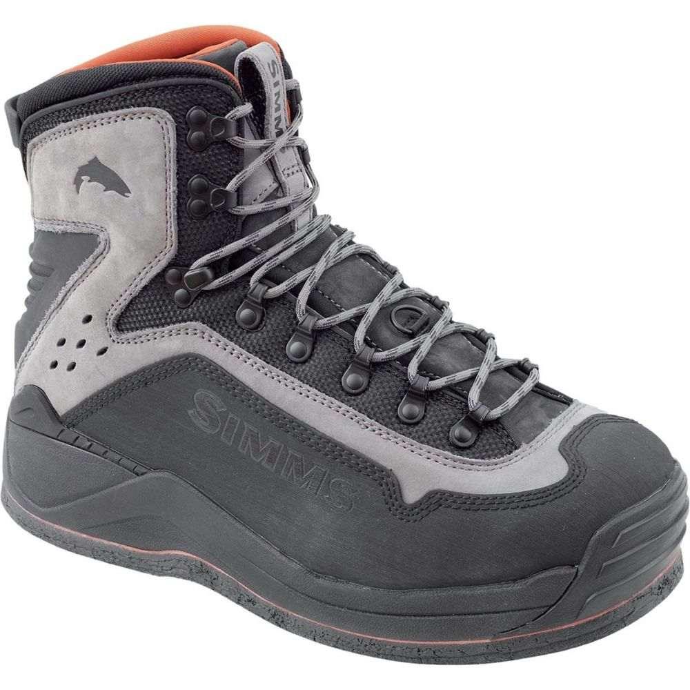 シムズ Simms メンズ 釣り・フィッシング シューズ・靴【G3 Guide Felt Boot】Steel Grey