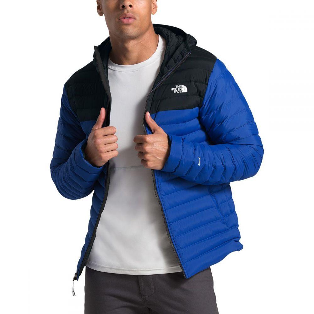 ザ ノースフェイス The North Face メンズ ダウン・中綿ジャケット フード アウター【Stretch Down Hooded Jacket】Tnf Blue