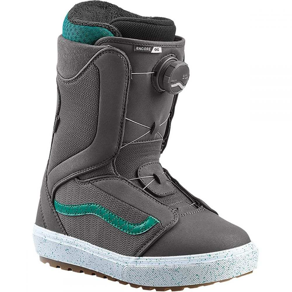 ヴァンズ Vans レディース スキー・スノーボード ブーツ シューズ・靴【Encore OG Boa Snowboard Boot】Grey/Tidepool