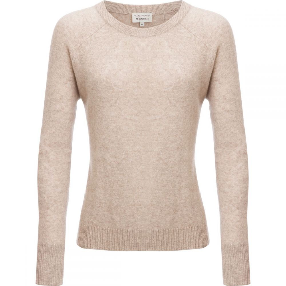 ホワイトウォーレン White + Warren レディース スウェット・トレーナー トップス【Essential Sweatshirt】Sand Wisp Heather