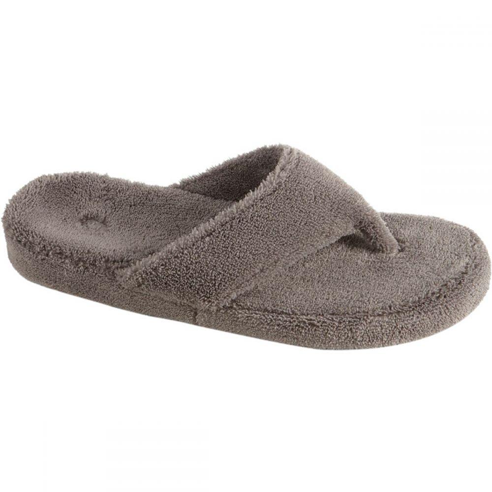 エーコーン Acorn レディース スリッパ シューズ・靴【Spa Thong Slipper】Grey