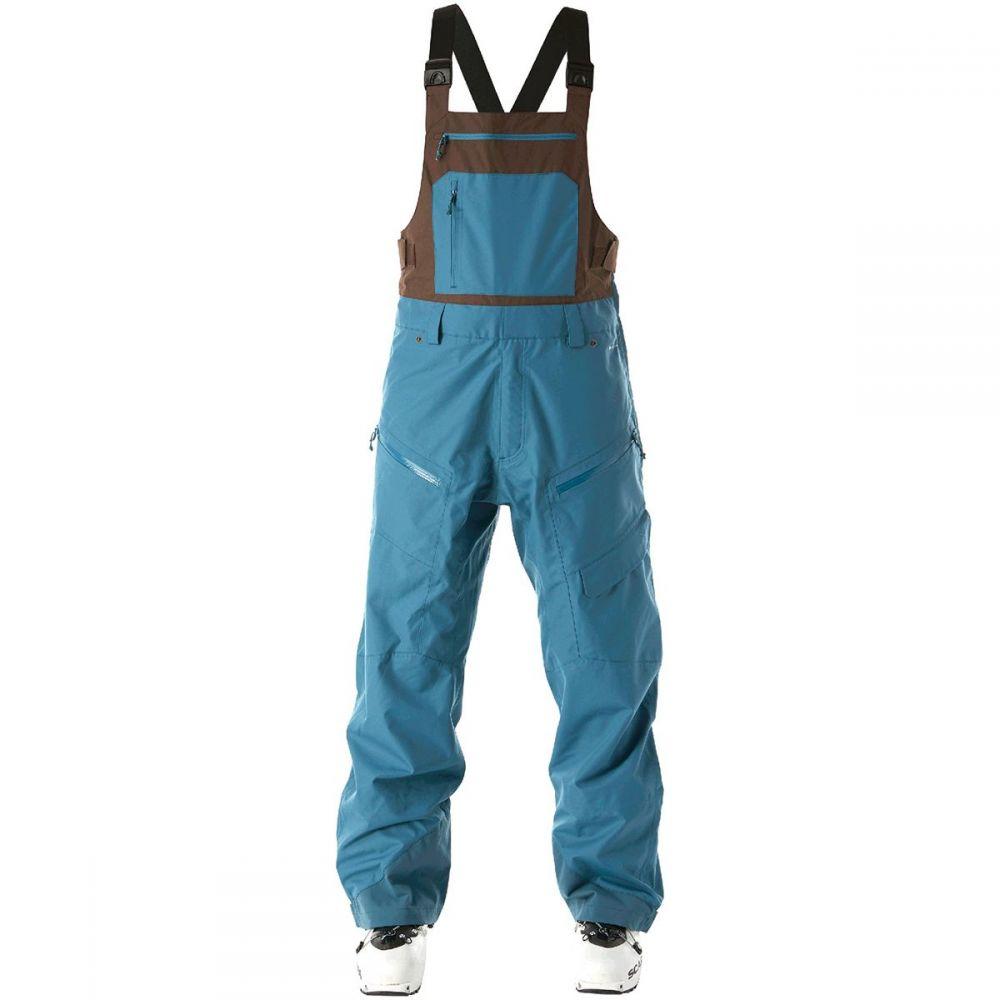 フライロウ Flylow メンズ スキー・スノーボード ビブパンツ ボトムス・パンツ【Firebird Bib Pant】Quail/Bison