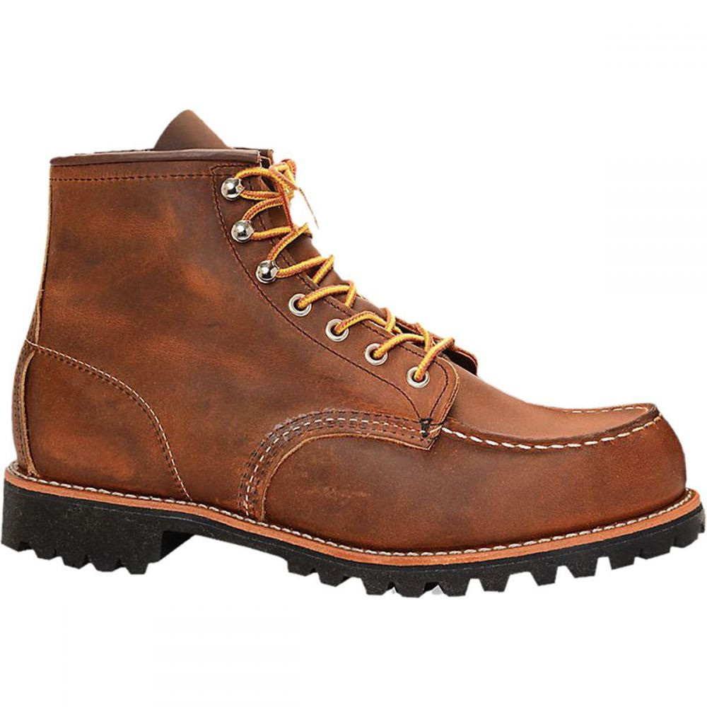 レッドウィング Red Wing Heritage メンズ ブーツ シューズ・靴【Roughneck 6in Boot】Copper Rough/Tough Leather