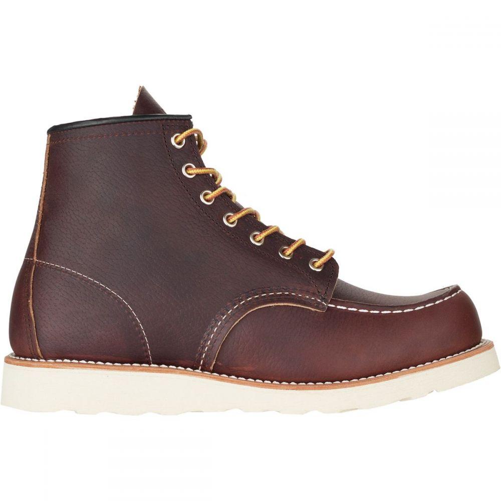 レッドウィング Red Wing Heritage メンズ ブーツ シューズ・靴【Classic 6in Moc Boot】Briar Oil Slick Leather